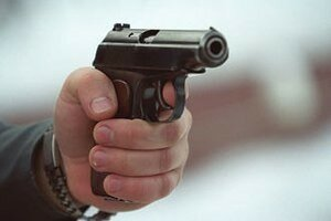 оружие пистолет
